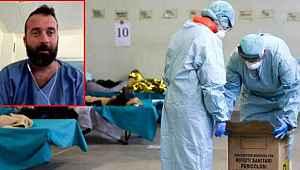 Koronavirüse yakalanan İtalyan hasta,