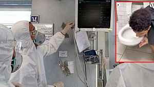 Koronaya meydan okuyarak klozet yalayan fenomen virüse yakalandı