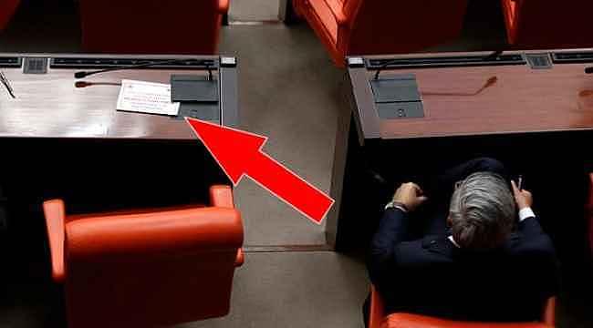 Meclis Genel Kurulu'nda koronavirüs önlemi... Koltuklar boş bırakıldı