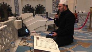 Mehmetçik için Çamlıca Camii'nde Fetih Süresi okundu