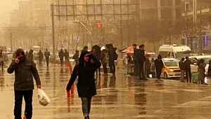 Meteoroloji, 4 il için toz taşınımı uyarısında bulundu