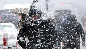 Meteoroloji'den 9 il için yoğun kar yağışı ve don uyarısı