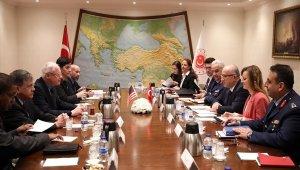 Milli Savunma Bakanı Akar ABD Suriye Özel Temsilcisini kabul etti