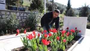 Mudanya'daki şehit mezarları çiçeklendirildi - Bursa Haberleri