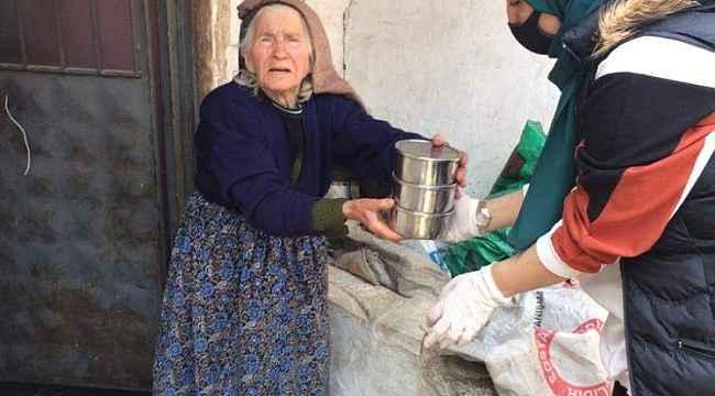 Orhaneli Belediyesi kimsesiz ve yaşlı vatandaşları unutmadı - Bursa Haberleri