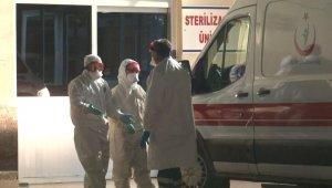 Rapor verilip evine gönderilen koronavirüs şüphelisi, ekipler tarafından yolda yakalandı