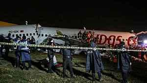 Sabiha Gökçen'de üç kişinin öldüğü uçak kazasında ön rapor