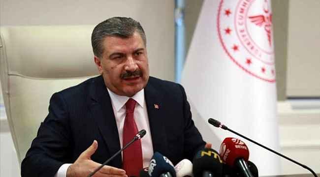 Sağlık Bakanı Fahrettin Koca'dan Avrupa'ya koronavirüs eleştrisi