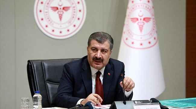 Sağlık Bakanı Koca, vatandaşlara teşekkür etti: