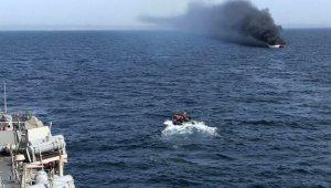 Silivri'deki yat yangınında yaralıları ABD savaş gemisinin kurtardığı ortaya çıktı