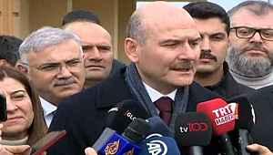 Süleyman Soylu, gazetecinin sorusuna sinirlendi,