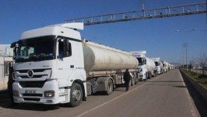Suriye'deki birliklere tankerlerle akaryakıt gönderildi