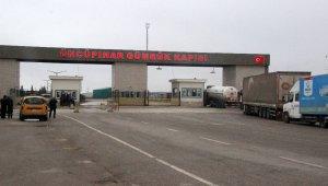 Suriye'ye açılan Sınır Kapıları korona virüs tedbirleri kapsamında kapatıldı
