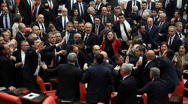 TBMM Başkanı Şentop'tan CHP Grup Başkanvekili Özkoç'a tepki