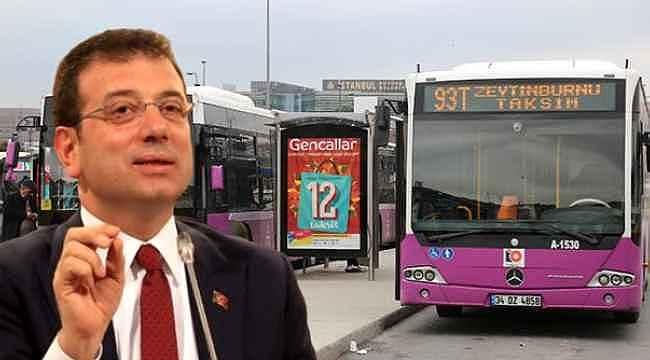 Toplu taşıma kullanım oranının düşmesinin ardından İBB harekete geçti