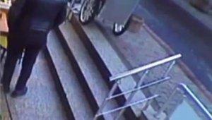 Ümraniye'de silahlı dehşet anları kamerada