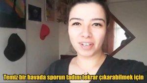 Üniversite öğrencilerinden işitme engelliler için videolu 'Evde Kal' mesajı