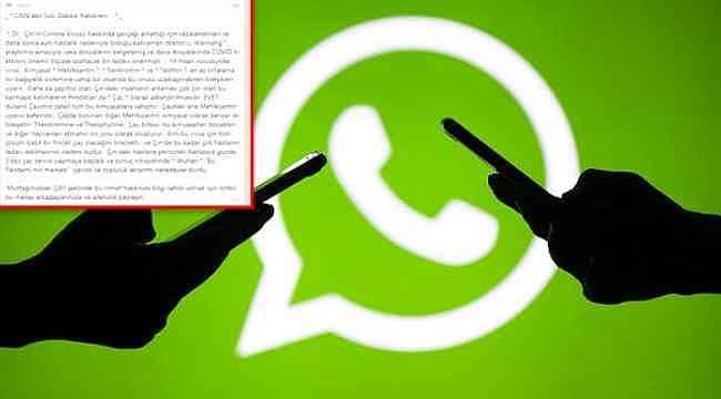 WhatsApp'taki bilgi kirliliği önlenemiyor... Bir mesaj daha asılsız çıktı