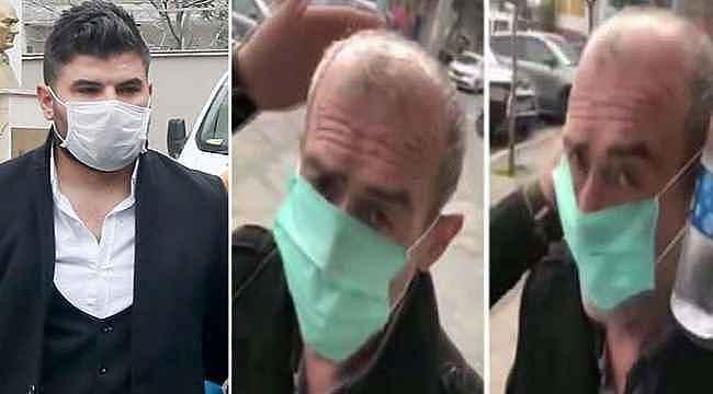 Yaşlı adama yaptığı hareketle tepki çeken adamın cezası kesildi
