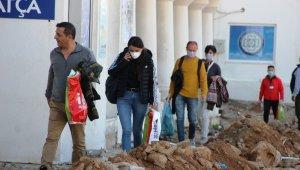 Yunan adasında mahsur kalan vatandaşlar Türkiye'ye ulaştı