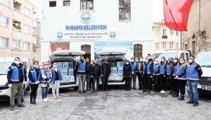 Zeytin Dalı Ekibi'nden gıda ve temizlik paketi - Bursa Haberleri