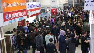 Zonguldak otogarında üniversitelerin tatil yoğunluğu