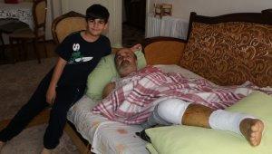 Acun'a meydan okurken ayağını kırdı ama vazgeçmiyor