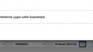 250 TL'ye satılan Rize-Trabzon otobüs biletlerinin internet üzerinden satışı kaldırıldı ama...