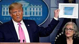 ABD Başkanı Trump'tan koronavirüsle ilgili korkutan ölüm tahmini