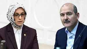 AK Parti Kadın Kolları Genel Başkanı'ndan Soylu'ya şaşırtan çıkış