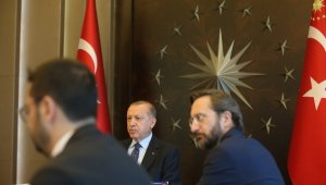 AK Parti Merkez Yürütme Kurulu Genel Başkan R. Tayyip Erdoğan başkanlığında toplandı