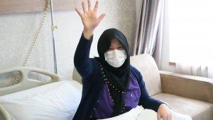 Ateş ve öksürük şikayetiyle gittiği hastaneden 2 ay sonra sapasağlam çıktı