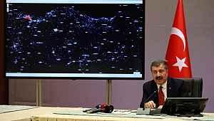 Bakan Koca, il il koronavirüs yoğunluk haritası açıkladı