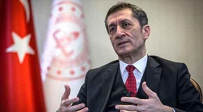 Bakan Ziya Selçuk, okullarla ilgili sahte haberlere isyan etti