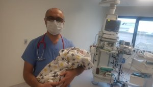 Bursa'da 18 günlük bebek korona virüsü yendi - Bursa Haberleri