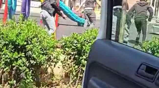 Bursa'da 20 yaş altı gençlerin zabıtadan kaçış anı kameraya böyle yansıdı - Bursa Haberleri