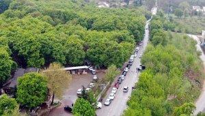 Bursa'da korona kısıtlaması öncesi kilometrelerce su kuyruğu - Bursa Haberleri