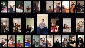 Bursa'da, orkestradan video konferansla konser - Bursa Haberleri