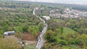 Bursa'da sonu görünmeyen su kuyruğu - Bursa Haberleri