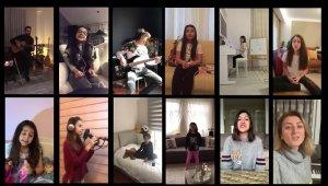 Bursalı öğrencilerden 'Evde Kal' klibi - Bursa Haberleri