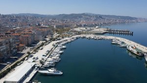 Bursa'nın boş sahilleri havadan görüntülendi - Bursa Haberleri