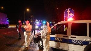 Bursa'ya girişler koronavirüs tedbirleri kapsamında kısıtlandı