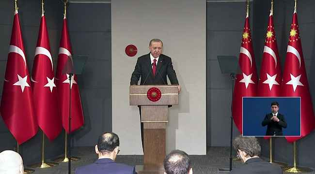 """Cumhurbaşkanı Erdoğan: """"Atatürk Havalimanı ve Sancaktepe'deki iki hastaneyi 45 günde bitireceğiz"""""""