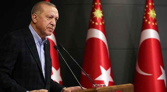 Cumhurbaşkanı Erdoğan'dan 136 bin KOBİ'ye müjde,