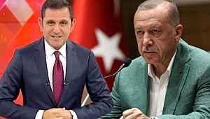 Cumhurbaşkanı Erdoğan'dan Fox Ana Haber sunucu Fatih Portakal hakkında suç duyurusu