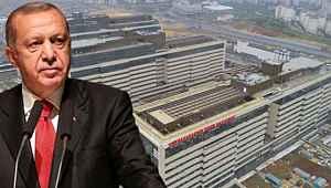Cumhurbaşkanı Erdoğan, İkitelli Şehir Hastanesi'nin açılış tarihini verdi