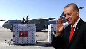 Cumhurbaşkanı Erdoğan'ın duyurusunu yaptığı ABD'ye gidecek korona yardım malzemelerinin ayrıntıları belli oldu