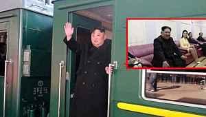 Dünyanın merak ettiği lider Kim Jong-un'un zırhlı zevk treni