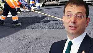 Ekrem İmamoğlu 2 günde 500.000 ton asfalt döktük iddiası