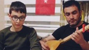 Erzincanlı baba-oğul, Bakan Soylu'ya türkü yazdı